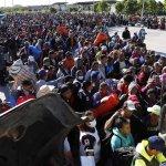 Migrant Caravan Groups Arrive By Hundreds At U.S. Border