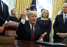 """Click to copyhttps://apnews.com/a73ec89d94dc467680874435fcfef2a6 RELATED TOPICS AP Top News Robert Mueller Politics Trump Investigations Russia Donald Trump Trump says he answered written questions in Mueller probe By JONATHAN LEMIRE and CATHERINE LUCEY an hour ago Donald Trump 1 of 3 President Donald Trump answers a reporters question about the investigation of special counsel Robert Mueller during a signing ceremony of the """"Cybersecurity and Infrastructure Security Agency Act,"""" in the Oval Office of the White House, Friday, Nov. 16, 2018, in Washington. (AP Photo/Evan Vucci)  WASHINGTON (AP) — President Donald Trump said Friday that he has answered written questions from special counsel Robert Mueller but hasn't yet submitted them.  Trump told reporters in the Oval Office that he answered the questions """"very easily"""" this week about the special counsel's ongoing probe into 2016 election interference and possible ties between Russia and the president's campaign.  """"You have to always be careful when you answer questions with people that probably have bad intentions,"""" said Trump in his latest swipe at the integrity of the probe. """"But no, the questions were very routinely answered by me.""""   The president did not say when he would turn over the answers to Mueller. The special counsel had signaled a willingness to accept written answers on matters of collusion but Trump's attorney, Rudy Giuliani, has said repeatedly that president would not answer Mueller's questions on possible obstruction of justice.  Trump had huddled with lawyers at the White House this week but made clear: """"My lawyers don't write answers, I write answers.""""  The president continued to maintain his innocence while launching a fresh round of attacks on the probe, saying """"there should have never been any Mueller investigation"""" while claiming it was a waste of millions of dollars.  But he denied being """"agitated"""" by the probe despite his outburst of critical tweets the day before.  """"The inner workings of """