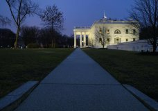 The White House is seen, Friday, Dec. 28, 2018, in Washington. The partial government shutdown will almost certainly be handed off to a divided government to solve in the new year, as both parties traded blame Friday and President Donald Trump sought to raise the stakes in the weeklong impasse. (AP Photo/Alex Brandon)