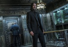 "This image released by Lionsgate shows Keanu Reeves in a scene from ""John Wick: Chapter 3 - Parabellum."" The third installment of the hyper violent Keanu Reeves franchise has taken the top spot at the North American box office and ending the three-week reign of ""Avengers: Endgame."" Studios on Sunday, May 19, 2019, say ""John Wick: Chapter 3 - Parabellum"" has grossed an estimated $57 million in its opening weekend. (Niko Tavernise/Lionsgate via AP)"