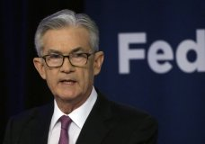 LE - In this June 4, 2019, file photo Federal Reserve Chairman Jerome Powell speaks at a conference involving its review of its interest-rate policy strategy and communications in Chicago. The slightest hint that the Federal Reserve might lower interest rates often puts investors in a buying mood, stoking their expectations of greater stock market returns. But it doesn't always work that way. (AP Photo/Kiichiro Sato, File)