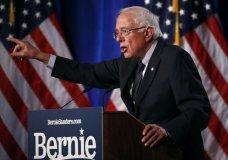 "Democratic presidential candidate, Sen. Bernie Sanders, I-Vt., speaks about his ""Medicare for All"" proposal Wednesday, July 17, 2019, at George Washington University in Washington. (AP Photo/Patrick Semansky)"