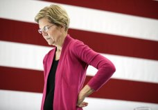 Democratic presidential candidate Sen. Elizabeth Warren, D-Mass., listens to a question during the question and answer part of her campaign event Wednesday, Oct. 30, 2019, at the University of New Hampshire in Durham, N.H. (AP Photo/ Cheryl Senter)