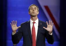In this Oct. 10, 2019 photo, Democratic presidential candidate former Texas Rep. Beto O'Rourke speaks during the Power of our Pride Town Hall in Los Angeles. O'Rourke has announced he's dropping his 2020 presidential bid. (AP Photo/Marcio Jose Sanchez)