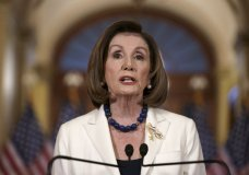 Speaker of the House Nancy Pelosi, D-Calif., makes a statement at the Capitol in Washington, Thursday, Dec. 5, 2019. Pelosi announced that the House is moving forward to draft articles of impeachment against President Donald Trump.  (AP Photo/J. Scott Applewhite)