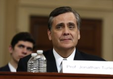 George Washington University Law School professor Jonathan Turley testifies during a hearing before the House Judiciary Committee on the constitutional grounds for the impeachment of President Donald Trump, Wednesday, Dec. 4, 2019, on Capitol Hill in Washington. (AP Photo/Jacquelyn Martin)