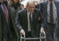 Harvey Weinstein arrives at federal court, Monday, Jan. 6, 2020, in New York. The disgraced movie mogul faces allegations of rape and sexual assault. Jury selection begins this week. (AP Photo/Seth Wenig)