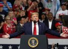 President Donald Trump speaks at a campaign rally Wednesday, Feb. 19, 2020 in Phoenix. (AP Photo/Rick Scuteri)