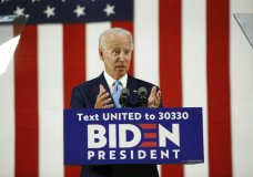Democratic presidential candidate, former Vice President Joe Biden, speaks Tuesday, June 30, 2020, in Wilmington, Del. (AP Photo/Patrick Semansky)