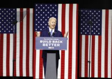 Democratic presidential candidate former Vice President Joe Biden speaks during a campaign event, Tuesday, July 14, 2020, in Wilmington, Del. (AP Photo/Patrick Semansky)