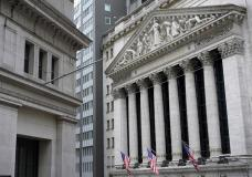 FILE - The New York Stock Exchange is seen in New York, Monday, Nov. 23, 2020. Stocks are off to a mostly lower start on Wall Street as the market comes off its worst weekly decline since February. The S&P 500 was off 0.1% in the early going Monday, May 17, 2021. (AP Photo/Seth Wenig, File)