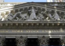 The facade of the New York Stock Exchange, is seen Wednesday, June 16, 2021. Stocks are opening mostly higher on Wall Street, getting the week off to a positive start after the S&P 500 posted its biggest weekly decline since February. The benchmark index was up 0.3% in the first few minutes of trading Monday, June 21. (AP Photo/Richard Drew)