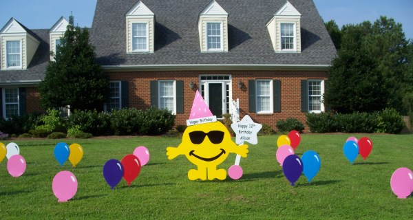 Front Yard Birthday Signs