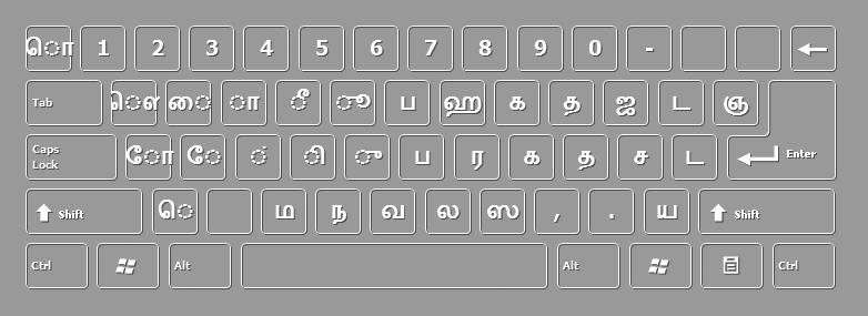 DOWNLOAD ON-SCREEN TAMIL KEYBOARD FOR FREE