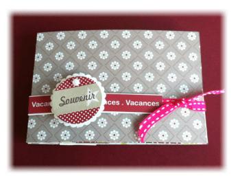album souvenirs de vacances cadeau original unique by f-rose1