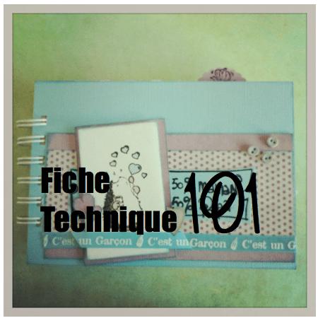 Album scrapbooking naissance garçon (6/6)