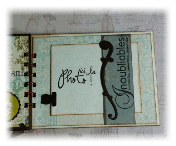 Album Photos scrapbooking plaisir bonheur chocolat10
