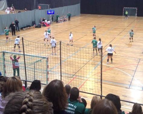 Frosta Jenter 14 i Håkons hall under Baldus cup 2015