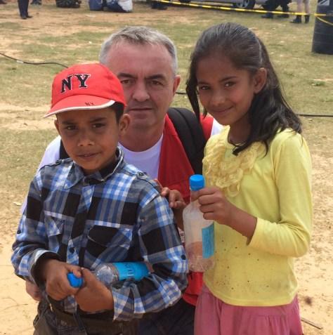 Bjørn Støwer reiste til Nepal for bistand under jordskjelvkatastrofen