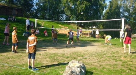 Volleyball på spelscena