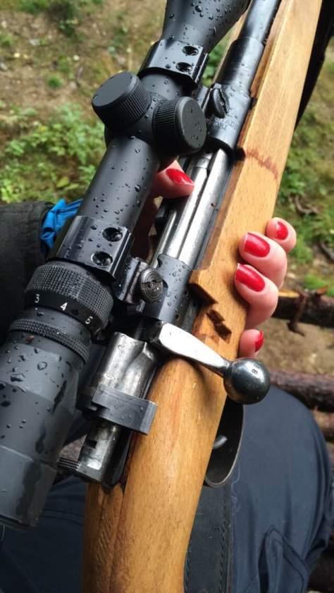 Damer kan også jakte! Foto: Oda Hollingsæter