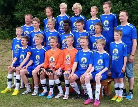 Neset Gutter 14. Bilde fra Norway Cup 2015.