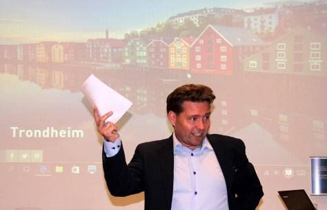 Engasjert Reiselivsdirektør Stig Hillestad - VisitTrondheim
