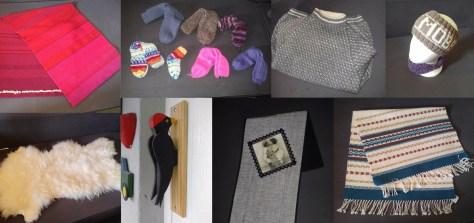 Håndarbeidsprodukter fra Anne Lund