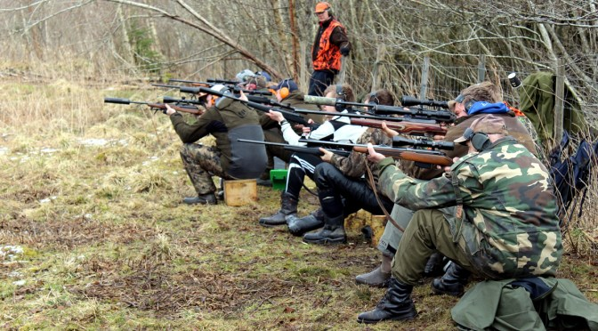 Rekordstor deltakelse på jaktfeltskyting