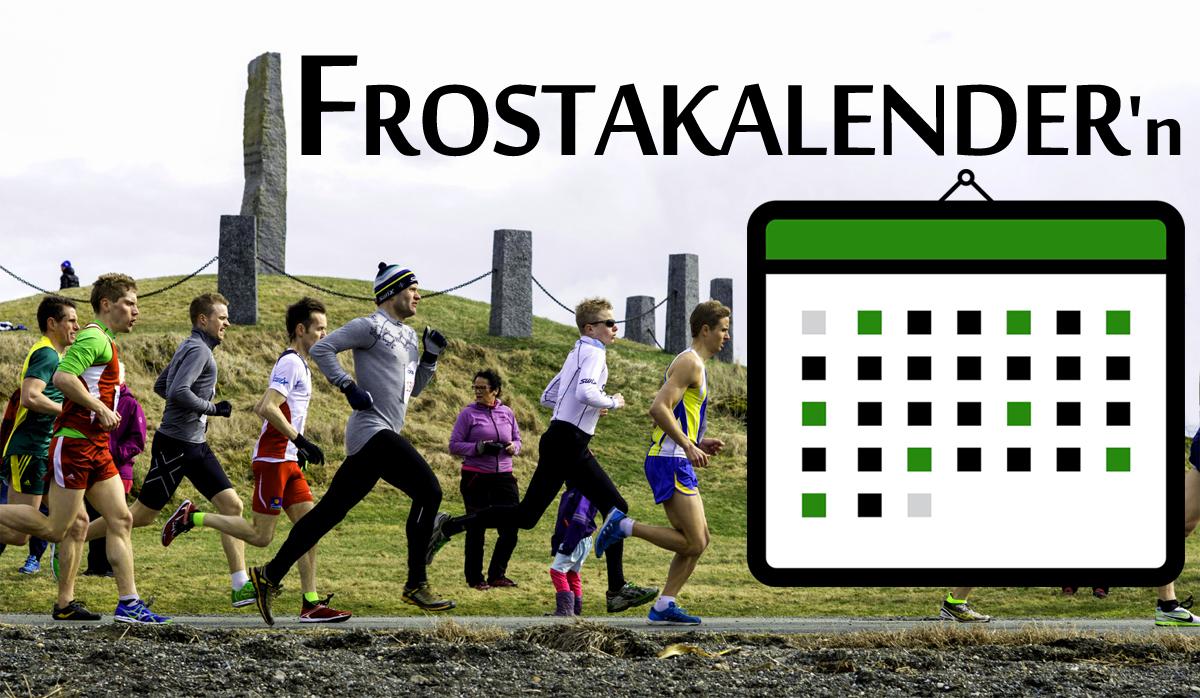 Lanserer Frostakalender'n
