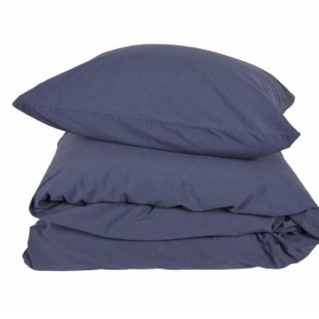 Gartex sengesæt stonewashed blå