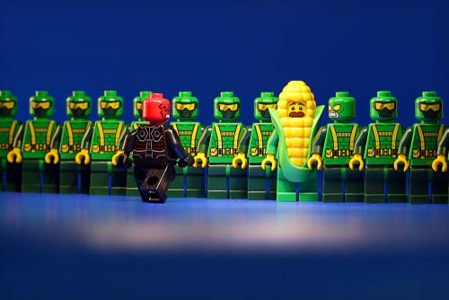 a lego minifigure