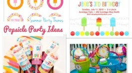Popsicle Theme Kids Party Ideas www.frostedevents.com Kids Birthday Party Ideas & Inspiration