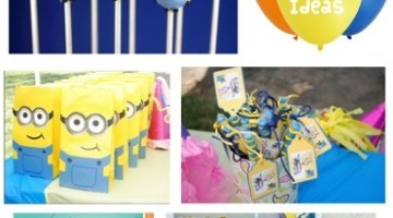 Despicable Me Kids Party Ideas www.frostedevents.com Birthday Party Ideas & Inspiration