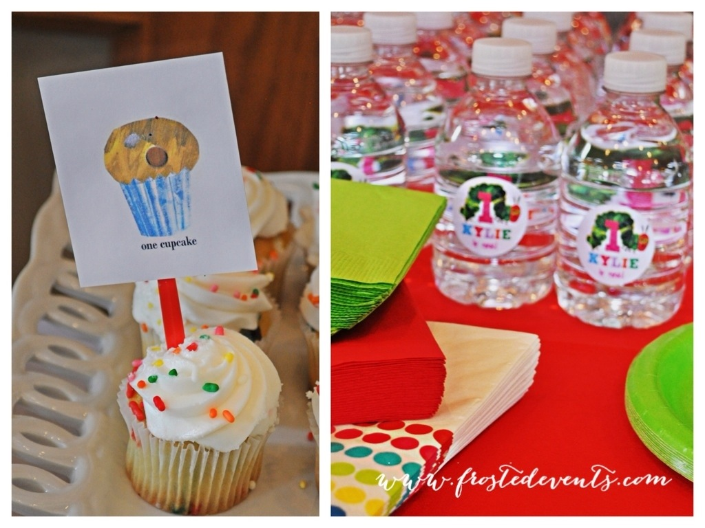 The Very Hungry Caterpillar First Birthday Party