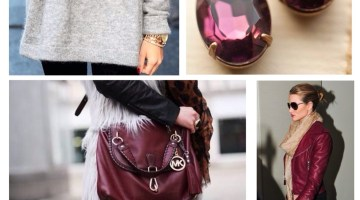 Fall Style Red Winde Burgunday Fashion Ideas & Inspiration www.frostedevents.com