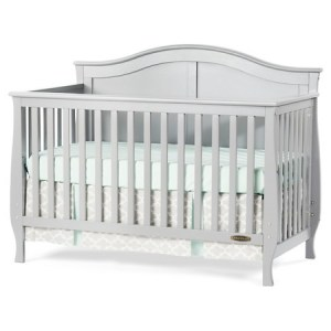 Child Craft Gray Crib Convertible Toddler Bed