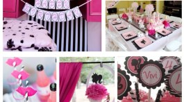 Vintage Barbie Doll Theme Party Ideas & Inspiration www.frostedevents.com