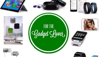 Holiday Gift Guide for Gadget Lovers www.frostedevents.com Christmas Gift Ideas