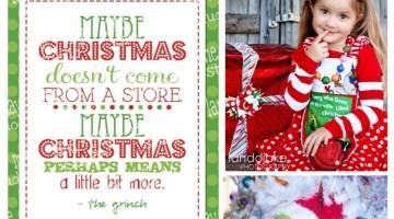 Christmas Ideas- How the Grinch Stole Christmas
