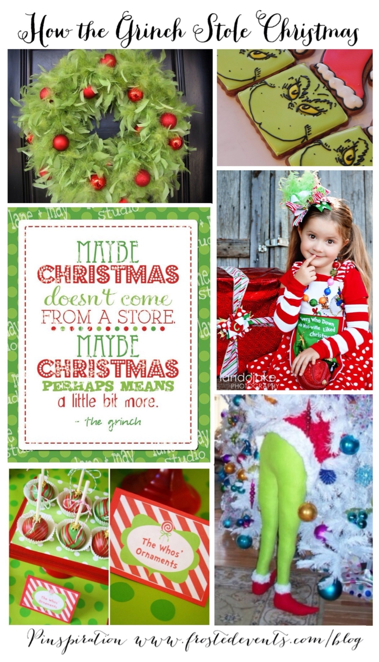 follow us on pinterest the grinch how the grinch stole christmas inspired by the grinch movie 2018 - How The Grinch Stole Christmas Decorating Ideas