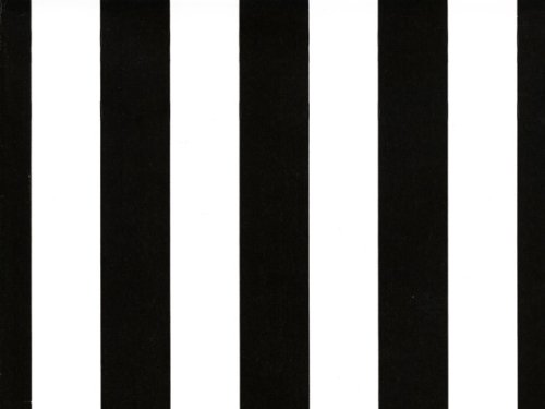 Black and White Stripe Gift Wrap Roll
