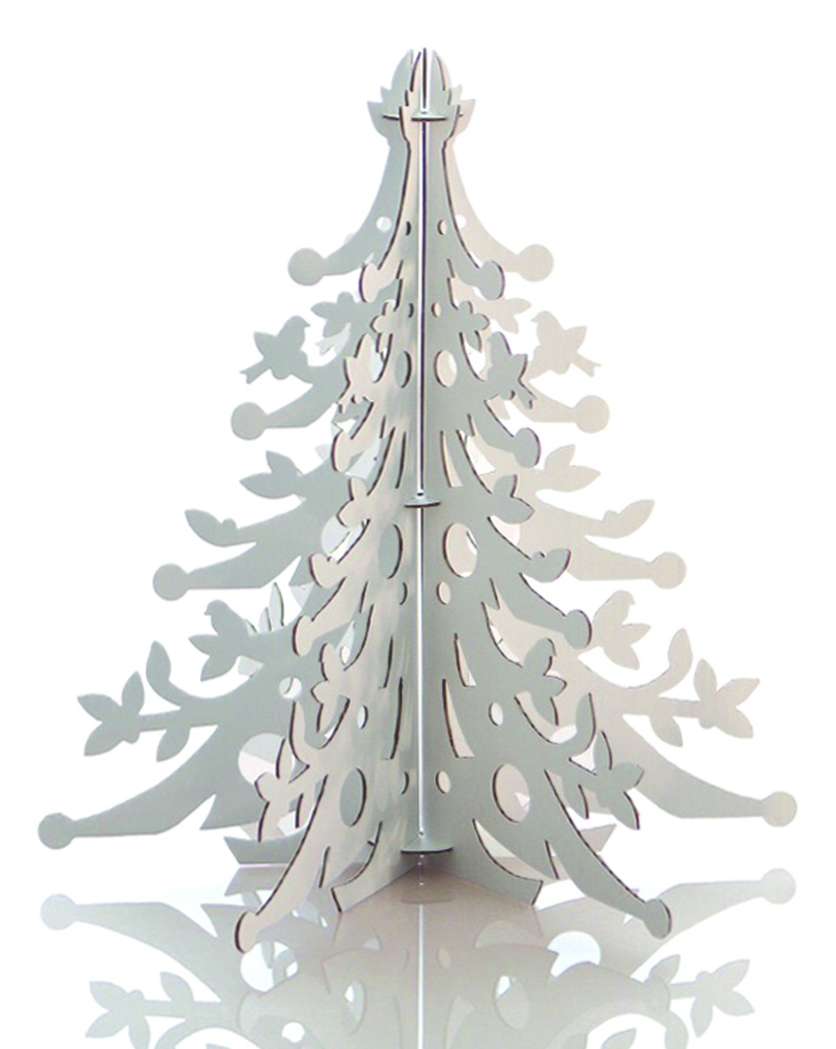 recycled white tabletop centerpiece decoration - Amazon White Christmas Decorations