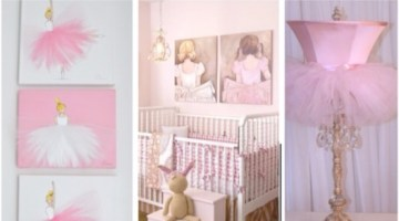 Ballerina Nursery Inspiration Ideas