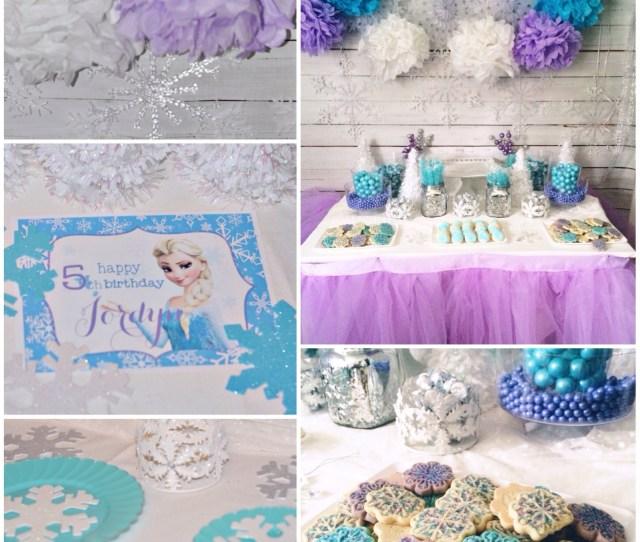 Fabulous Frozen Theme Party With Frozen Party Printables