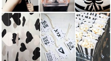 Black and White Inspiration and Ideas| Color Crush |Frosted Events frostedevents.com