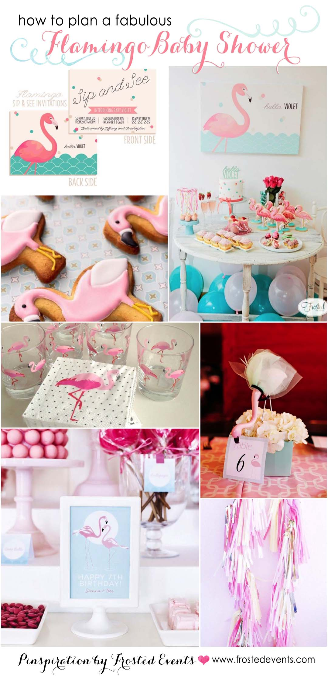 How To Throw A Fabulous Flamingo Theme Baby Shower| Party Themes