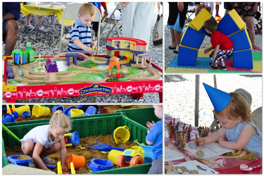 Chuggington Train at Baltimore Railroad Museum - Trains and Play Stations