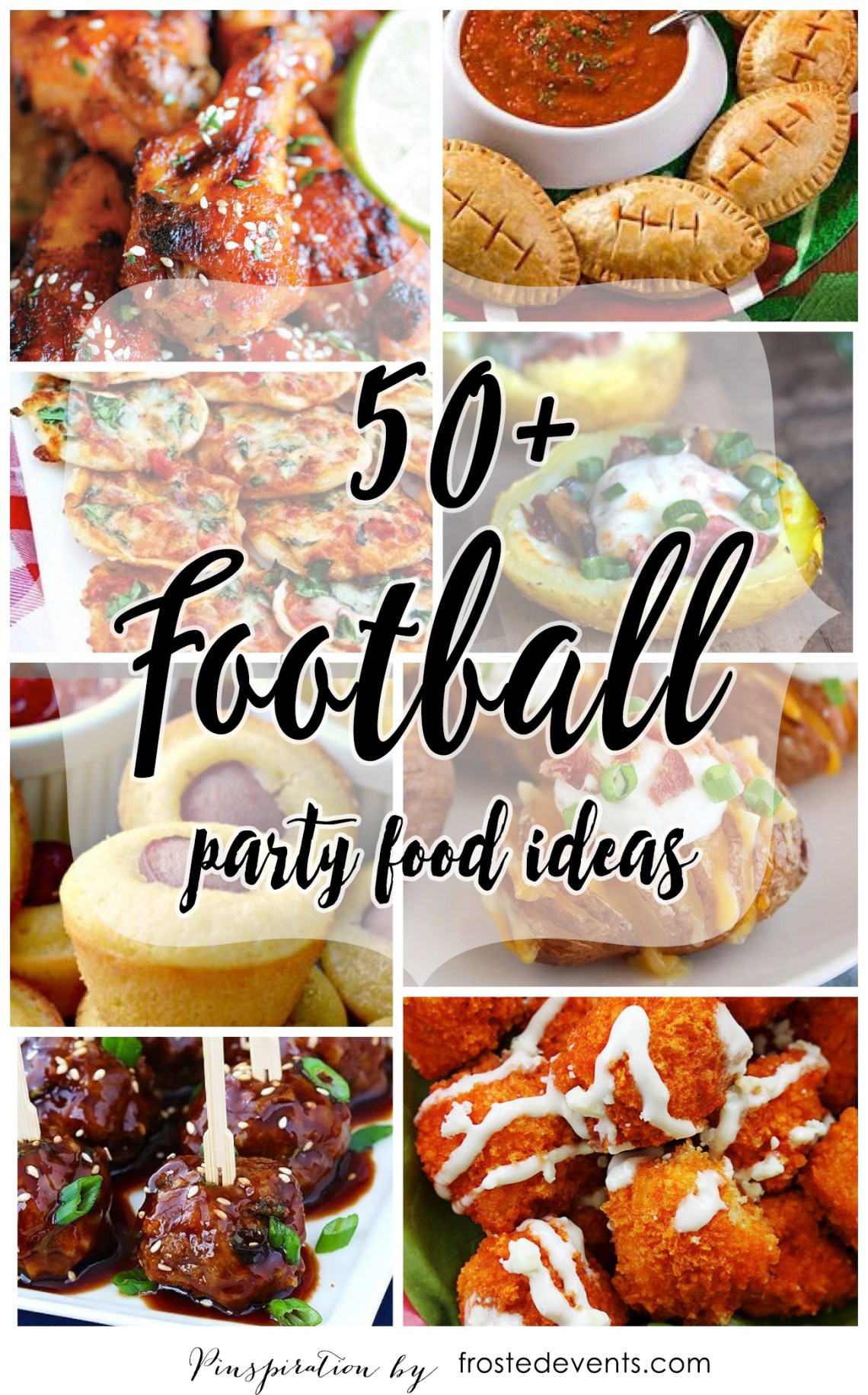 Football Party Food - Football Recipes 50+ ideas for Gameday Gatherings