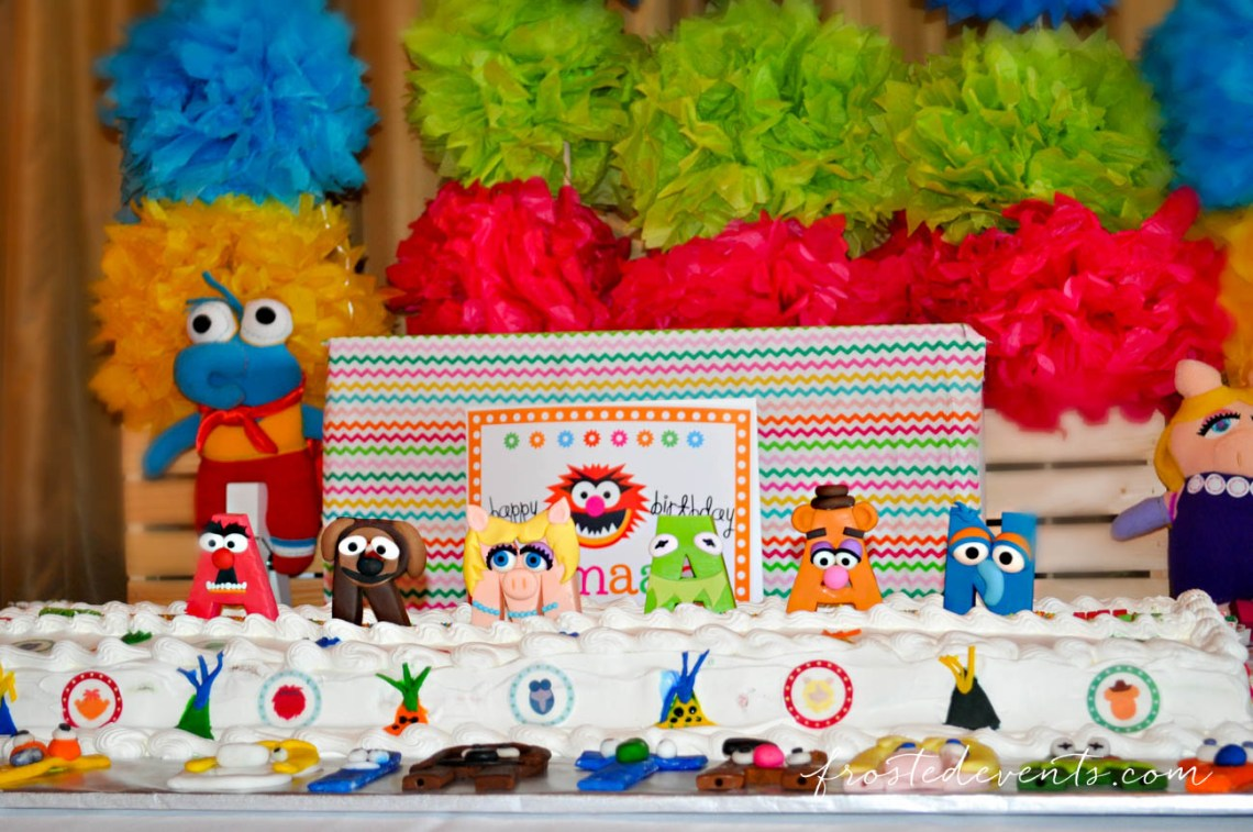 Muppets TV Show- The Muppets Show- Muppets Party Birthday - Muppets cake #muppets muppet birthday party